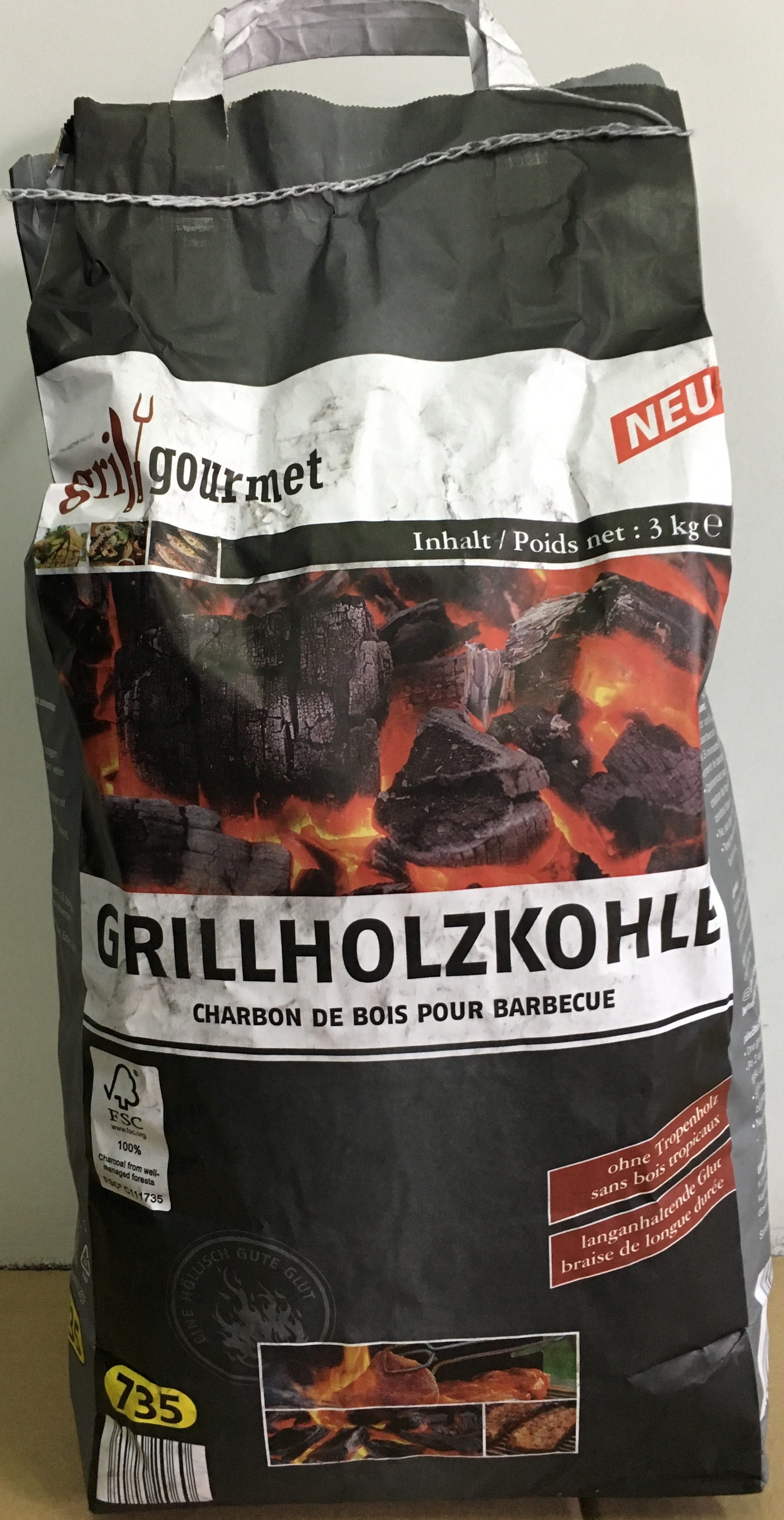 grill gourmet (3 Kg)
