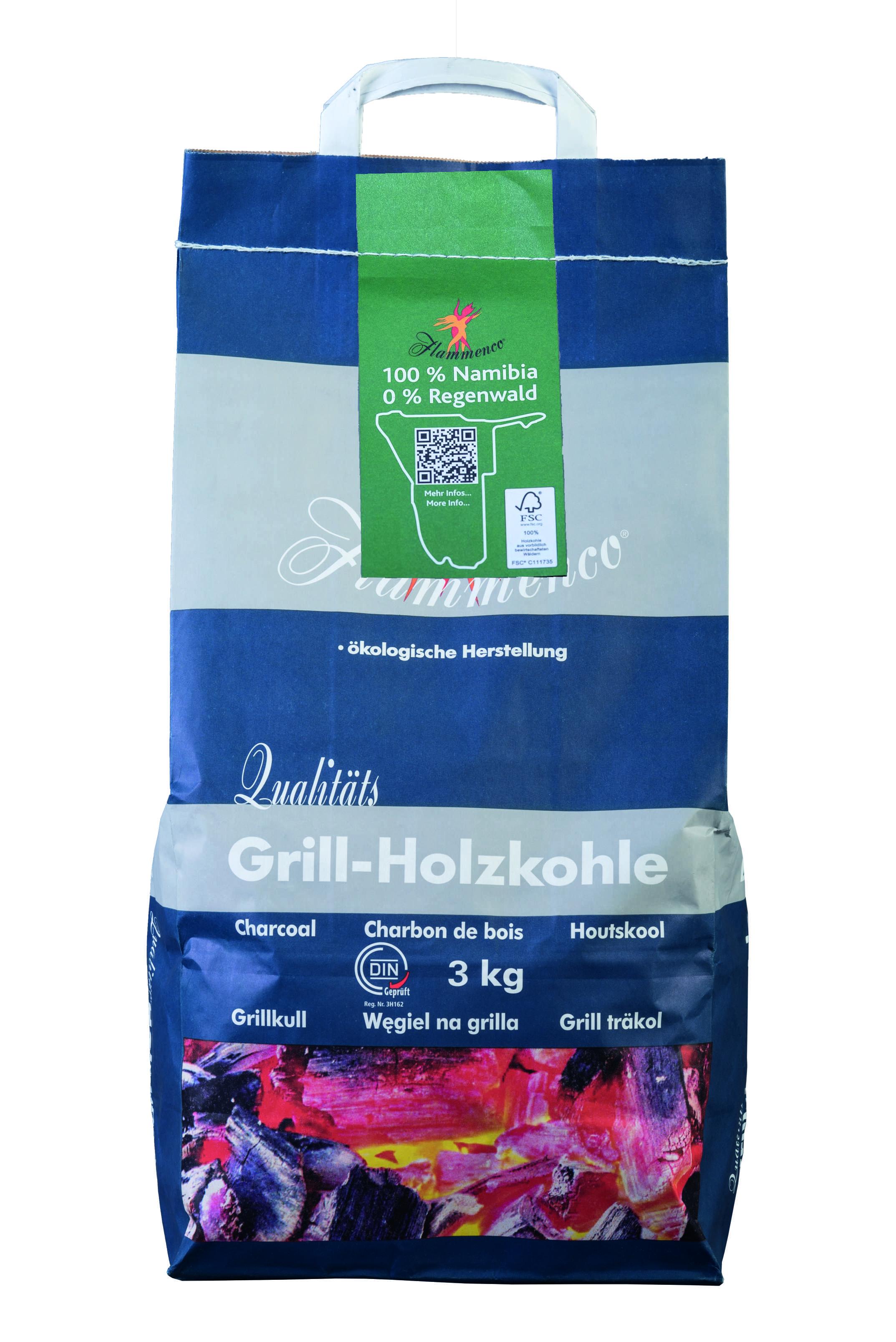 Grillholzkohle 2,5 Kg-Sack Premium 10 x 2,5kg